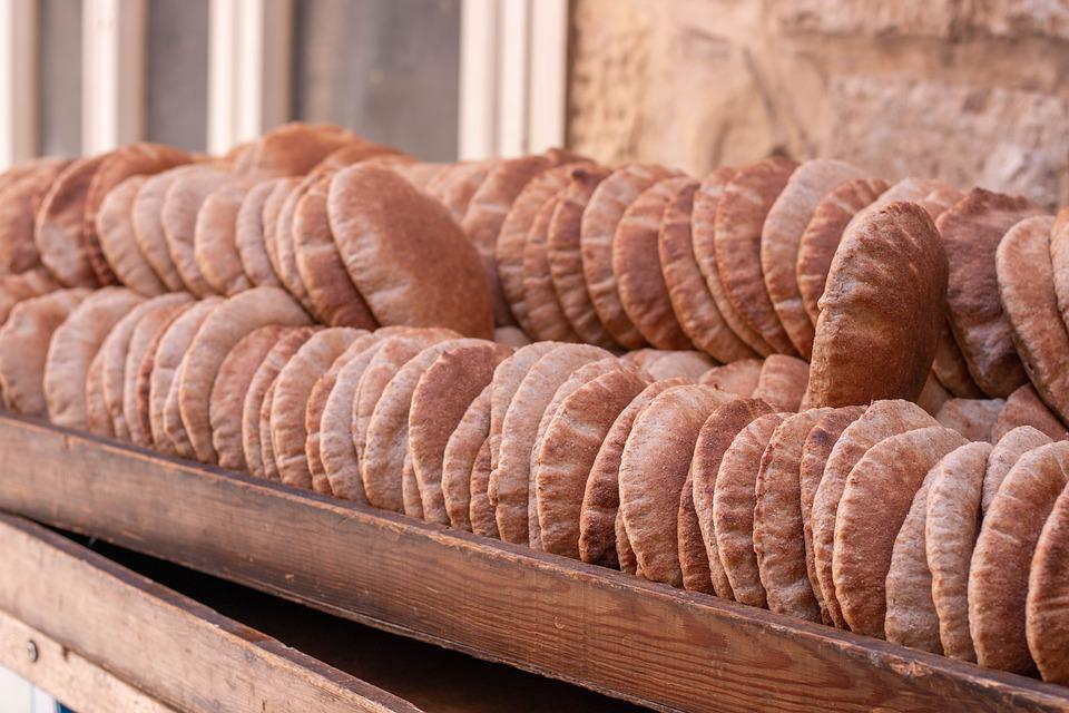 Chlebek pita - podstawa kuchni libańskiej