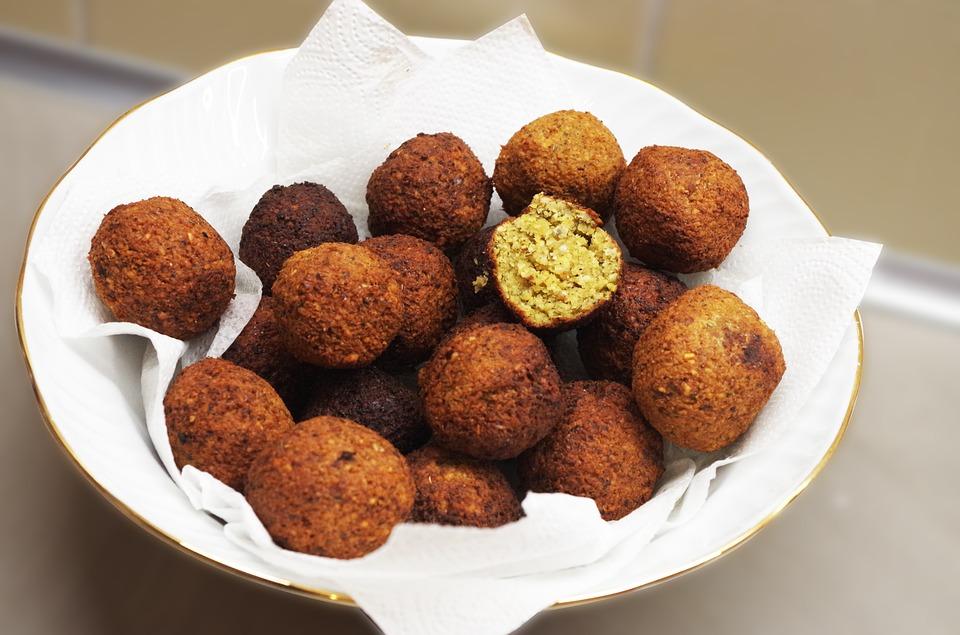 Falafele-jedna z potraw kuchni libańskiej